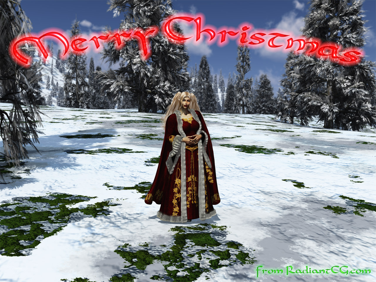 Christmas Maiden - '07 Edition!