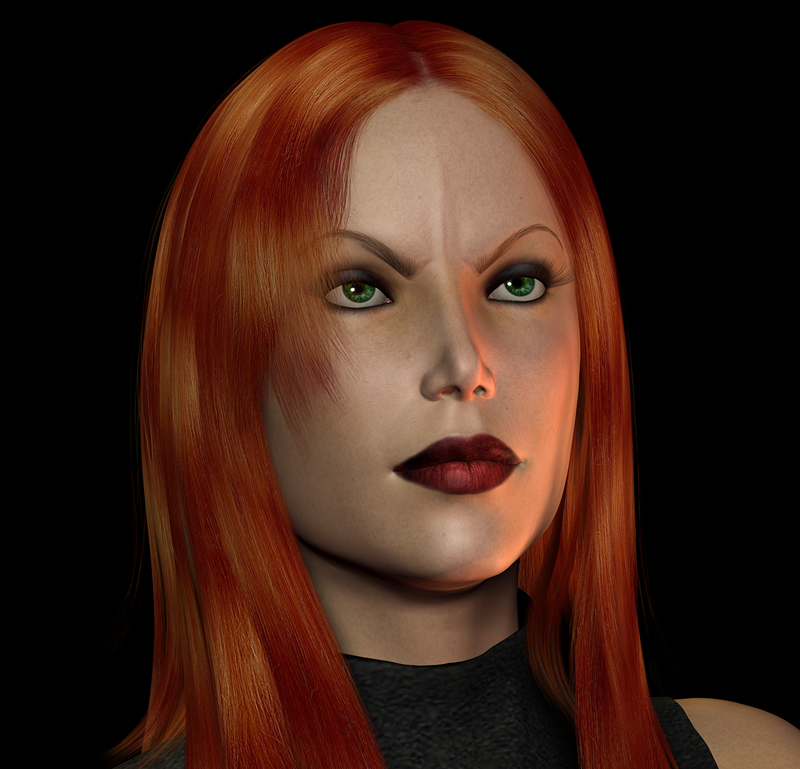 Mara Jade Feisty Portrait