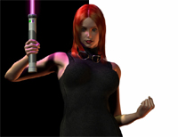 Mara Jade - Black & White